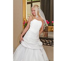 Bride on the mirror Photographic Print