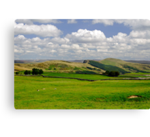 Hope Valley from Winnats Head Canvas Print