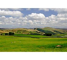 Hope Valley from Winnats Head Photographic Print