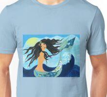 Mermaid, Summer, Waves and Sea Unisex T-Shirt