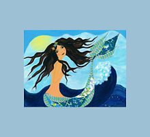 Mermaid, Summer, Waves and Sea Unisex T-Shirt