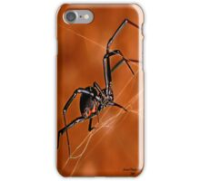 Black Widow - Electricslide iPhone Case/Skin
