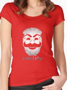 Fsociety Women's Fitted Scoop T-Shirt