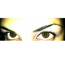 My Precious Eyes Photographic Print
