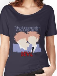Twins with too much time on their hands Women's Relaxed Fit T-Shirt