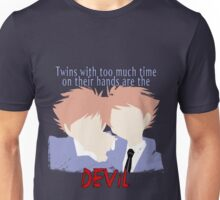 Twins with too much time on their hands Unisex T-Shirt