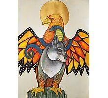Karen's Totem Photographic Print