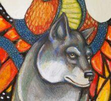 Karen's Totem Tee Sticker