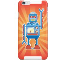 Retro Robot Toy iPhone Case/Skin