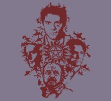 Supernatural Portraits in blood Kids Clothes