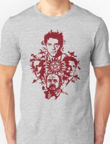 Supernatural Portraits in blood Unisex T-Shirt