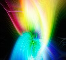 Multi-Color Swirl iphone case by TJ Baccari Photography