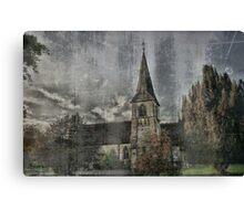 Sheet Church  Canvas Print
