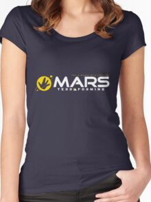 Mars Terraforming (Total Recall) Women's Fitted Scoop T-Shirt