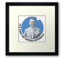 Vin Scully Framed Print