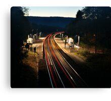 Night Trains Canvas Print