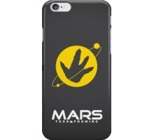 Mars Terraforming (Total Recall) iPhone Case/Skin