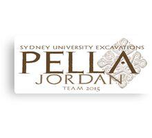 Pella Excavations 2015, Jordan Canvas Print