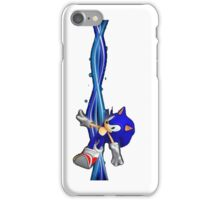 Sonic Blue Pulse iPhone Case/Skin