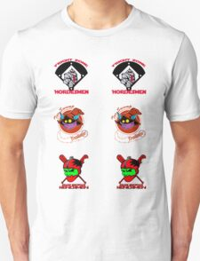 Eternian baseball sticker sheets T-Shirt