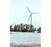 Winter Wind Power Photographic Print