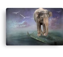 Expect the Unexpected Canvas Print