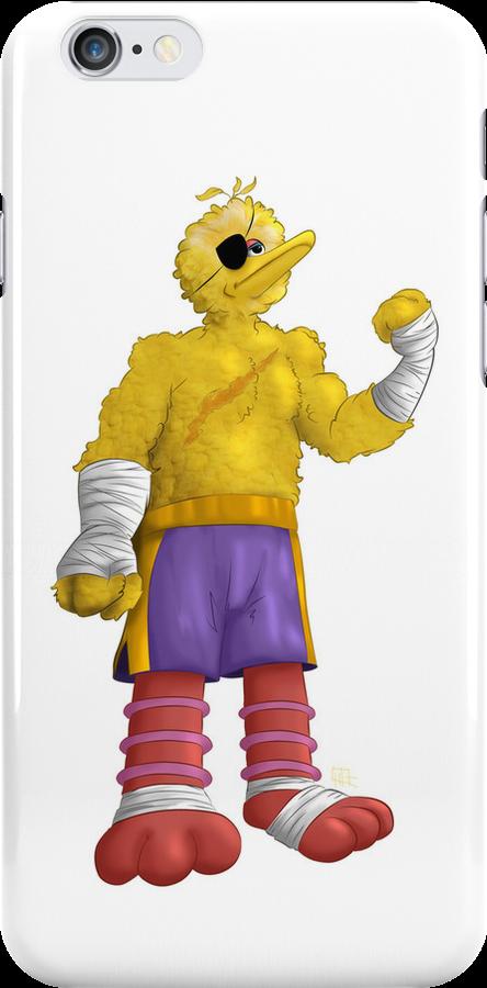 Sesame Street Fighter: Big Bagat by gavacho13