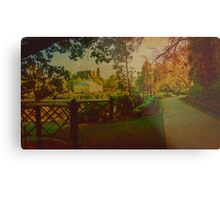 Oil on Canvas - Conservatory Gardens and Rosalind Park Metal Print