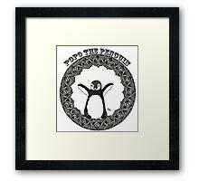 Popo the Penguin Framed Print
