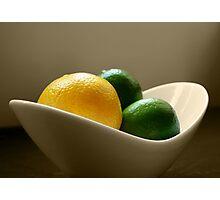 Lemon & Lime Photographic Print