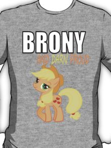 BRONY & PROUD - AJ T-Shirt