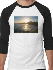 California Dreamin Men's Baseball ¾ T-Shirt