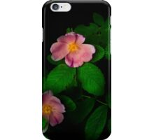 Pink Flowers (iPhone/iPod Case) iPhone Case/Skin
