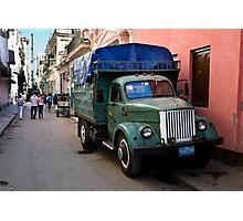 Streets Of Havana Photographic Print