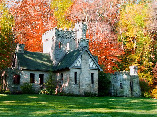 Squires Castle  by Marcia Rubin