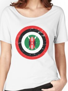 Captain Kenya Women's Relaxed Fit T-Shirt