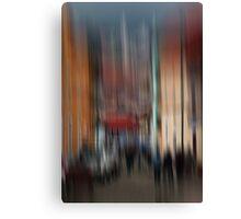 Down Main street Canvas Print
