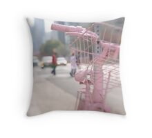 Good Bike Project Toronto Throw Pillow