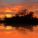 Sunset reflections by shalisa