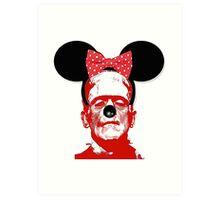 Frankie In Disneyland Art Print
