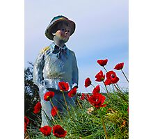 Poppy Hill Boy By Jonathan Green Photographic Print