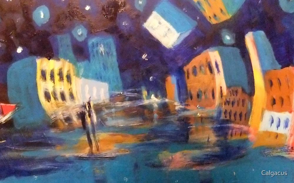la ville la nuit by Calgacus