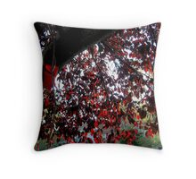 Autumn Rubies Throw Pillow
