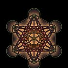 Metatron's Cube - Sacred Geometry Symbol - iPhone & iPod Cases by Leah McNeir