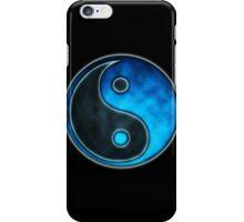 Blue Yin Yang Symbol - iPhone & iPod  Cases  iPhone Case/Skin