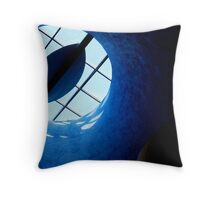 Light Tube Throw Pillow