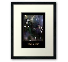 Angus & Moira Framed Print