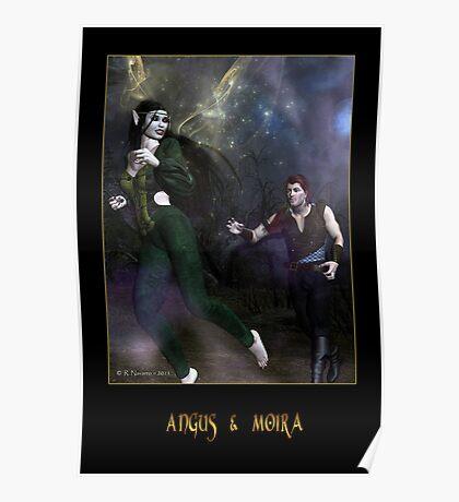 Angus & Moira Poster