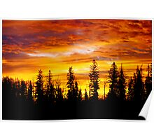 Sunrise - Alberta, Canada Poster