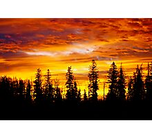 Sunrise - Alberta, Canada Photographic Print